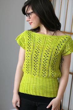 Easy, Breezy Knitting: 10 Lovely Women's Top Patterns for Summer