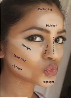 Have you heard of makeup contouring? It is a process of Haben Sie von Makeup Contouring gehört? Es ist ein Prozess des Hervorhebens, Bronzins … – Make-up Geheimnisse Have you heard of makeup contouring? It& a process of highlighting, bronze … have - How To Contour Your Face, Contour Face, Contour Kit, Where To Contour, Basic Contour, Cream Contour, Liquid Contour, Contour For Round Face, Powder Contour