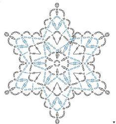 <無料編み図集>*SNOWFLAKE* 雪の結晶を編もう! | Mazourka-Iris