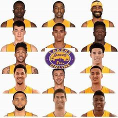 Lakers Regram Lakersonline The Official Roster In 2017 2018 Http Ift Tt 2heabtv Lakers Los Angeles Lakers Nba Championships