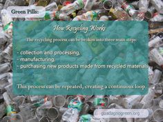 How Recycling Works - the three stages.