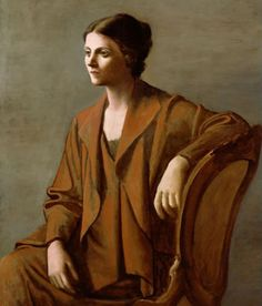 *  Portrait d'Olga Picasso 1923 Pablo Picasso