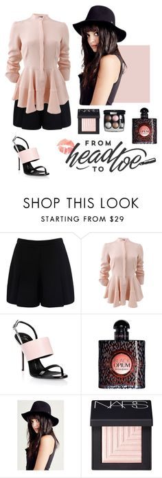 """""""Weekender Day"""" by cosmicdeep on Polyvore featuring Forever New, Alexander McQueen, Giuseppe Zanotti, Yves Saint Laurent, NARS Cosmetics, Chanel, girly, classy and dayout"""