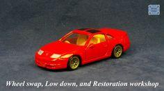 TOMICA 015E NISSAN FAIRLADY Z32 300ZX #WHEELSWAP #LOWDOWN | v.30 | MESH GOLD Old Models, Diecast, Nissan, Auction, Mesh, Car, Gold, Automobile, Vehicles