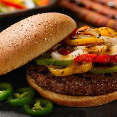 Home-Ground Burgers with Bacon, Cheese, and Fresh Thyme Recipe - Key ...