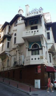 La mansión de Vedat Tek, una de las casas más fotografiadas de Estambul #turquia