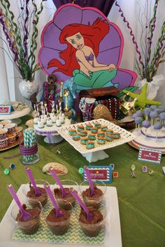 "Photo 2 of 68: The Little Mermaid / Birthday ""Isabella's 3rd Birthday Bash!"" 