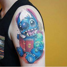 #disney #liloandstitch #stitch #scrump #disneynerd #waltdisney #tattoo #disneytattoo #disneyworld