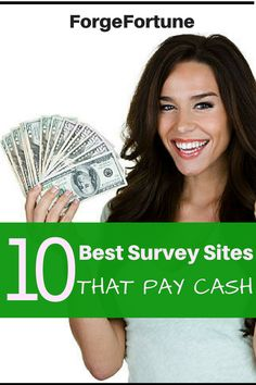 Top 10 Best Survey Sites that actually Pay you for your Opinions - Forge Fortune