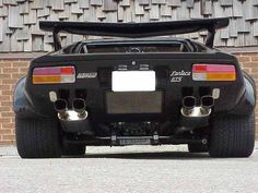 The Ultimate old school supercar Pantera   DeTomaso GTS .. American HP under the hood...427 big block..