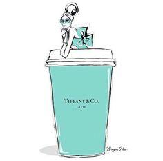 poppin' the blue box that say Tiffany