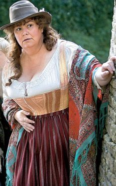 """Dawn French in """"Lark Rise to Candleford"""""""