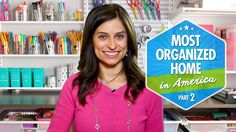 [VIDEO]: Most Organized Home in America (Part 2) by Professional Organizer Alejandra Costello