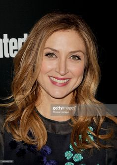 Sasha Alexander attends the Entertainment Weekly SAG Awards pre-party at Chateau Marmont on January 17, 2014 in Los Angeles, California.