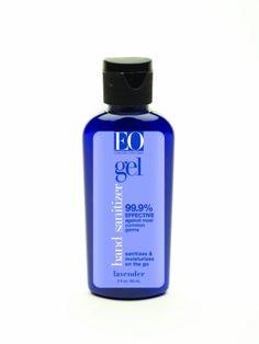 EO Hand Sanitizer Gel Lavender