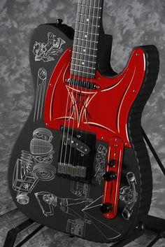 Une Fender Telecaster Custom. Retrouvez des cours de #guitare d'un nouveau genre sur MyMusicTeacher.fr