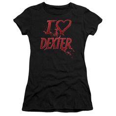 Dexter: I Heart Dexter Junior T-Shirt