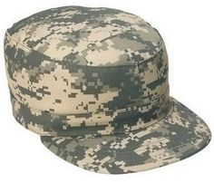 Army Camouflage Camo Fatigued Hats Men/'s Vintage Military Fatigue Caps USMC