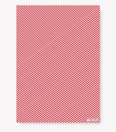 Red Stripe Wrapping Paper by Fevrier Designs - www.FevrierDesigns.com