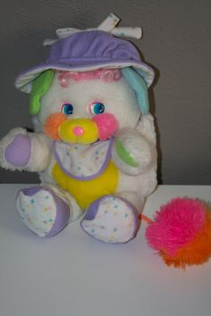 Popple Plush 1980's Toy Bibsy Popple on Etsy, $24.00