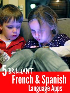 A list of 5 great Apps for helping kids learn French and Spanish... some of these Apps are language learning Apps and some are fun kids Apps where you can select a language in the settings. All are great for making language learning fun and immersive for kids