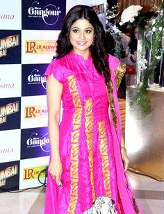 Shamita Shetty at Ekta Kapoor's Iftar bash. #Bollywood #Fashion
