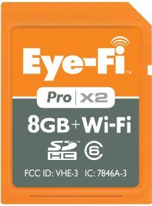 Eye-Fi SD Card with Wifi: I'm a believer. If you have a good but pre-internet camera that is languishing, pop this card in and your photos sync up to your iPhone automagically, ready for instagram/facebook/whatever else you'd otherwise do with your phone's decent-but-not-quite-there camera. Now if only they did CF type-1, my D700 would be happier.