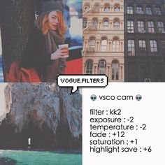 sorry for not posting yesterday. I'll post another filter later to make up for it! anyways, the new vsco update has a new free filter pack which is kk. It comes with kk1 & kk2. I decided to make a filter with  it so yeah this is it.
