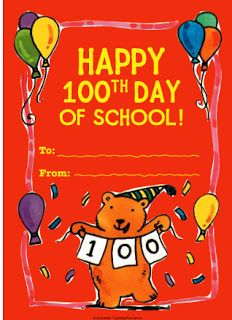 technology rocks. seriously.: 100th Day of School- video of 100 different people who are arranged according to their age, starting from age 1
