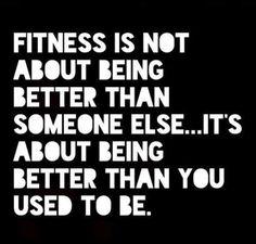 #Motivation #FitnessMotivation #MorningMotivation  Be Better Than You Used To…