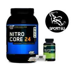 Pack Nitro core 24 + Glutamine 10000 + Pillenbox