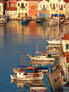 Kastellorizo or otherwise Megisti is a small island made famous by the film Mediterraneo, a must-see paradise for anyone visiting Greece. Places Around The World, Oh The Places You'll Go, Places To Travel, Places To Visit, Around The Worlds, Beautiful World, Beautiful Places, Myconos, Beau Site