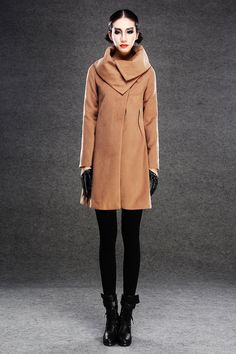 Maybe a different color womens winter jacket girls pea coat by YL1dress on Etsy, $179.00