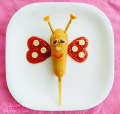 Happy Valentines Day!! We came up with this fun and easy Valentine Butterfly Corn Dog for lunch yesterday. My 2 year old loved it! This lovable butterfly would be fun to make for the kids any time of the year! Valentine Butterfly Corn Dog 1 Corn Dog (we like Morning Star) Ketchup Provolone Cheese 2...Read More »