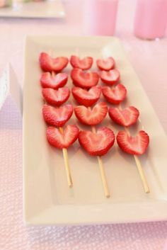 Simple Heart Shaped foods