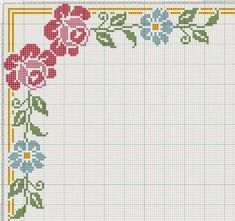 This Pin was discovered by 974 Cross Stitch Boards, Cross Stitch Rose, Cross Stitch Flowers, Cross Stitching, Cross Stitch Embroidery, Embroidery Patterns, Paper Embroidery, Doily Patterns, Dress Patterns