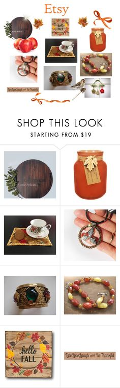 Shop Handmade, Shop Etsy by cozeequilts on Polyvore featuring Hawkwood, DutchCrafters and rustic