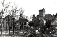 Schwanenburg Kleve, nach dem 2. Weltkrieg