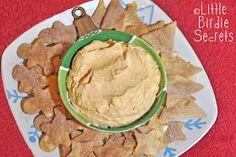 Little Birdie Secrets: fluffy pumpkin dip and cinnamon sugar chips recipe