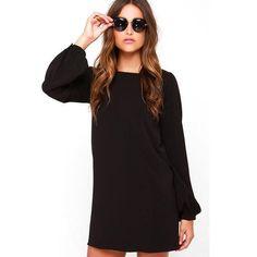 2016 Autumn Dress Plus Size Women Dresses Work Wear Elegant Casual Party Bodycon Long Sleeve Mini Loose Dress Vestido de festa