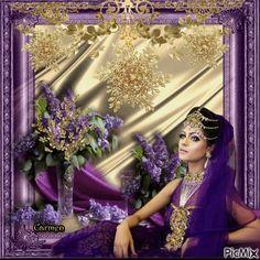 Or et violet