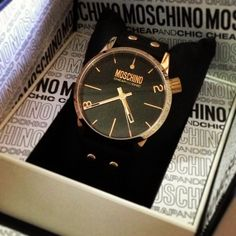Photo by bernicemmm  #moschino #mymoschino #watch #cheapandchic
