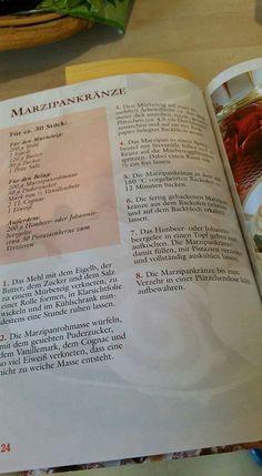 Marzipankränze