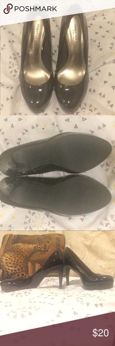 Heels Perfect black pumps 4 inch heels no flaws like new never worn Christian Siriano Shoes Heels