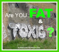 The real connection between the amount of toxins stored in your body and your weight. How it happens & how you can help yourself detox naturally & lose weight. By Jenny at www.AuNaturaleNutrition.com
