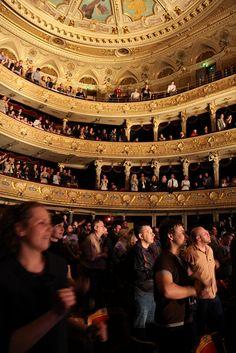 Lviv Opera House inside, W Ukraine , from Iryna
