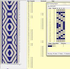 Diseño 24 tarjetas, 2 colores, repite dibujo cada 20 movimientos   // Band29 ༺❁