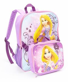 Look what I found on #zulily! Rapunzel Backpack & Lunch Box Set #zulilyfinds