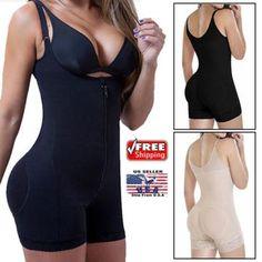 e2c75f26212ad Miss Moly Latex Full Body shaper Modeling Shapewear Waist Cincher Underbust  Bodysuit Jumpsuit Pants Zipper Slimming Corset - Bestsellinglover