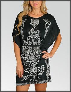 Black flourish dress/blouse... so want this dress